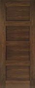 Deanta Pre-Finished Walnut Coventry Door